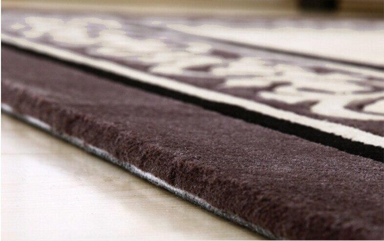 Tapis laine tapis et moquettes européens tapis salon Diamond tapete tapis alfombras tapis pour un salon moderne - 5