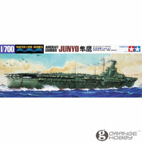 OHS Tamiya 31212 1 700 Aircraft Carrier Junyo Assembly Scale Military Ship Model Building Kits
