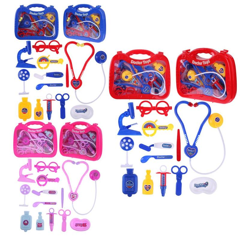 Simulation Doctor Medicine Box Toys for