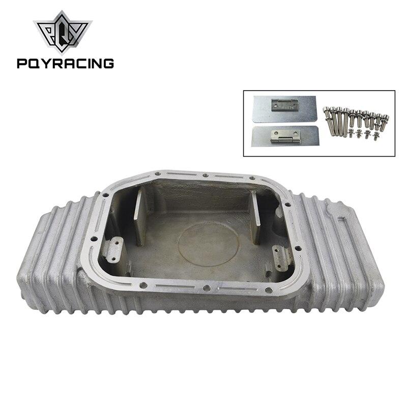 PQY RACING-PER S13 S14 S15 SR20DET SR20 180SX 200SX 240SX SILVIA SIL 80 TURBO IN ALLUMINIO OLIO PAN (adatto a: nissan) PQY-OP49
