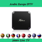 4K Full HD Europe IPTV Box X96 Mini Android TV Box with 2000+ French Spain Arabic Indian football Channels Stable Set top Box