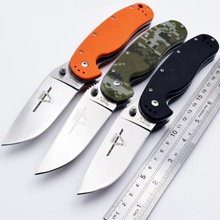 RAT 1 Folding Knife AUS-8 Blade G10 Handle Tactical Camping Pocket Outdoor Survival Hunting EDC Combat Portable Tools OEM