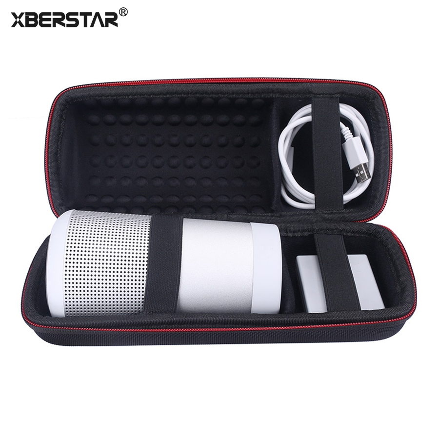 XBERSTAR Caso per Revolve Bose Soundlink Bluetooth Speaker Antiurto Duro EVA Carry Storage Box