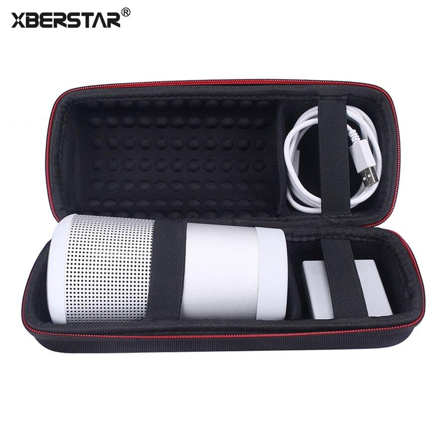 bilder für XBERSTAR für Bose Soundlink Drehen Bluetooth Lautsprecher Stoßfest Hart EVA Tragen Aufbewahrungsbox
