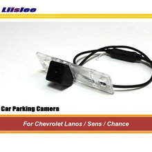 цена на Car Back Up Parking Camera For Chevrolet Chevy Lanos/Sens/Chance Reverse Rear View Camera AUTO HD SONY CCD III CAM