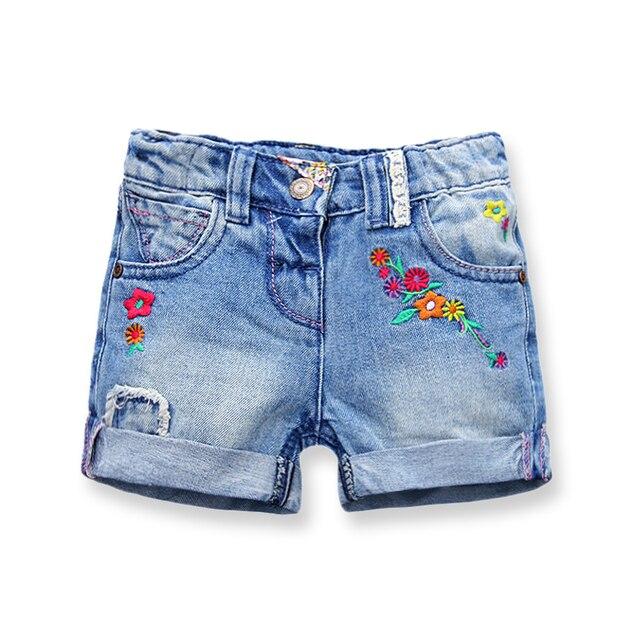 1e91c2933f88 € 11.64 20% de DESCUENTO Pantalones cortos de mezclilla para niñas de moda  Pantalones cortos de verano para niños recién llegados pantalones cortos de  ...