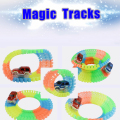 Magic Tracks Car Track Can Bend Flex Glow in the Dark Gifts for Children