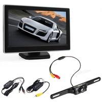 High Quality 5 Inch DC12V 24V FT LCD Digital Car Rear View Monitor LCD Display Wireless135