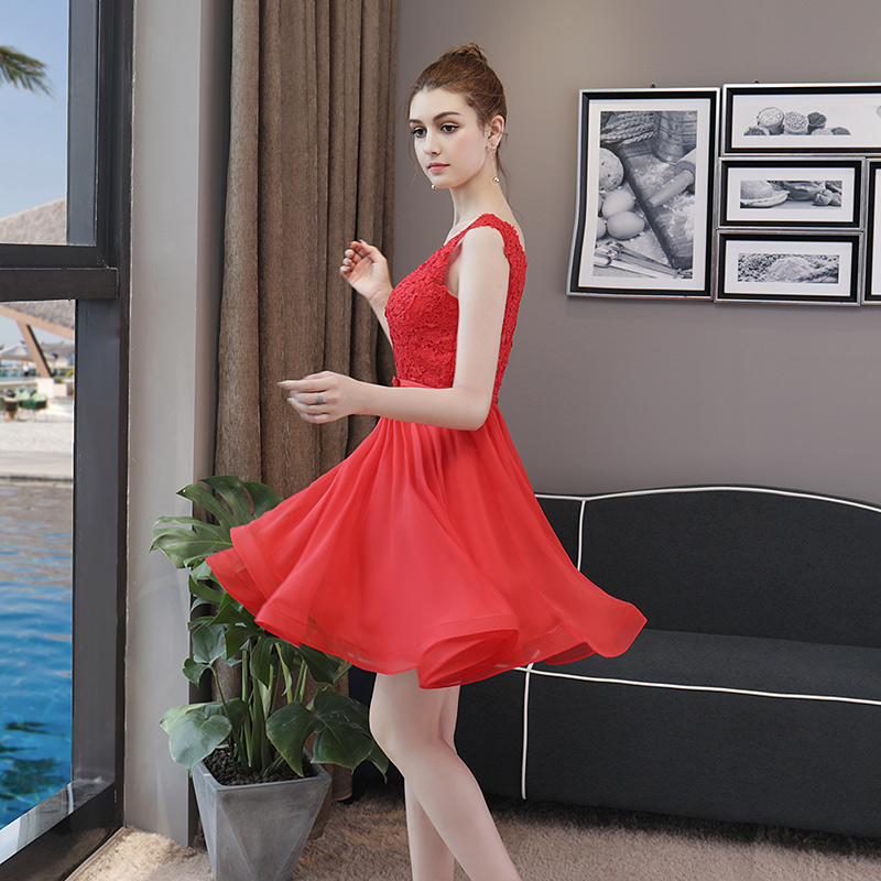 b1d8861bd Aliexpress.com   Buy CEEWHY Sleeveless Short Party Dress Elegant Special  Occasion Dresses Cocktail Dresses Summer Vestidos Coctel Mujer 2018 from  Reliable ...