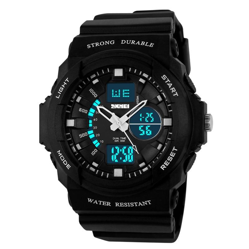 SKMEI Men's Watch Digital Sport Women's Watches Dual Time Display Man Watch Clock Chronograph Waterproof relogio masculino 1008