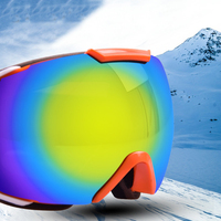 Professional Ski Goggles for Men Women Snowboard Goggle Winter UV400 Anti fog Glasses Snowmobile Eyewear Windproo Doubles Lenses