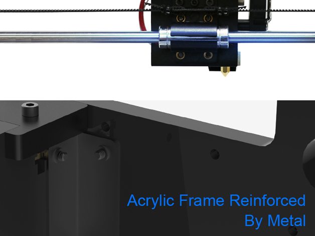 Anycubic 3D printer impresora 3d Newest Upgrade imprimante 3d Prusa i3 3d printer Kit High Precision Ultrabase Platfrom (7)