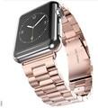 2016 hoco acero inoxidable correas de reloj pulsera para apple watch accesorios de la venda de la pulsera del deporte 38mm 42mm con adaptador