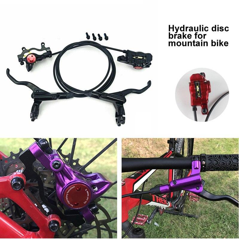 Nouvellement VTT VTT Hydraulique Disque De Frein leviers Étriers Avant montage pour siège arrière vélo Accessoires BF88
