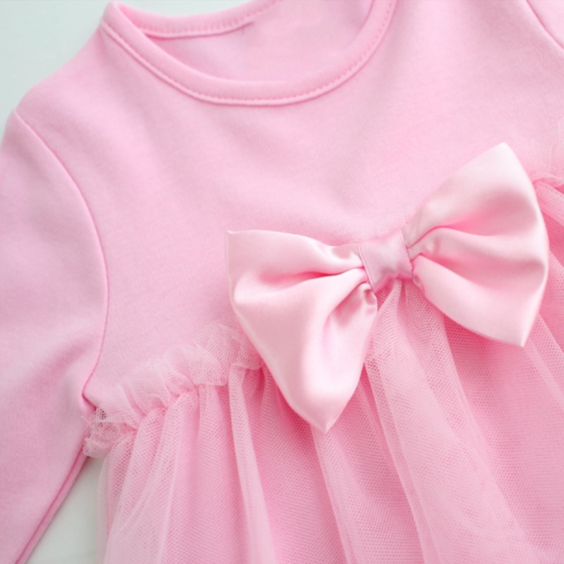 Lawadka-Cotton-Bow-New-Born-Baby-Dress-with-Baby-Rompers-Soft-Baby-Girls-Infant-Clothes-Jumpsuit-1