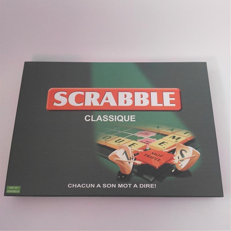 Jeux de Scrabble Français de Qualité Orthographe Apprentissage Jeux de Lettres SC-004