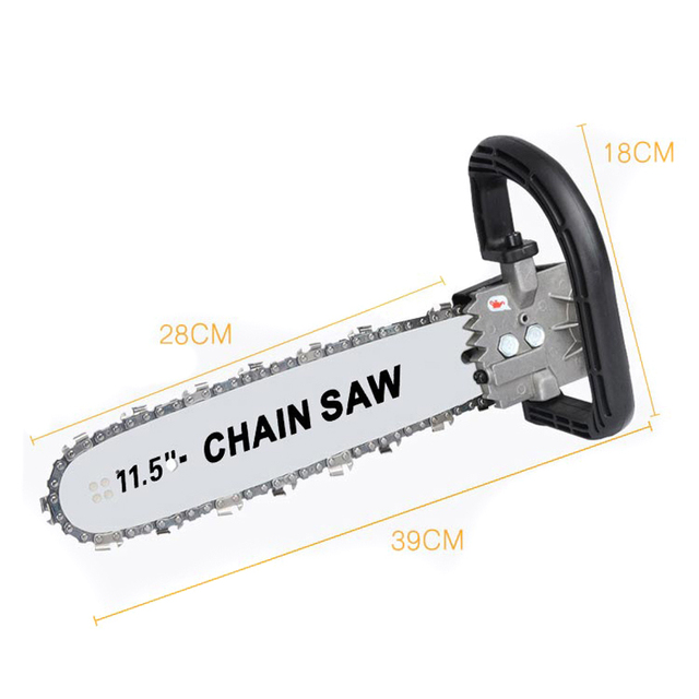 High Carbon Steel Angle Grinder Chain Saw 1000W Chain Saw Bracket Set Bracket Change Grinder Woodwork Mayitr 2