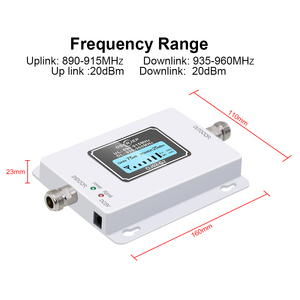 Image 3 - GSM 900 Mhz Repeater Band8 70dB LCD Display GSM 900Mhz 2G 3g Cellular Cell Phone Signal Booster GSM Signal Repeater Amplifier