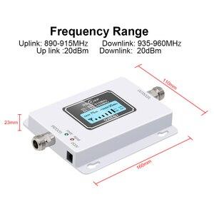 Image 3 - GSM 900 Mhz répéteur Band8 70dB affichage à cristaux liquides GSM 900 Mhz 2G 3g amplificateur de répéteur de Signal de téléphone portable cellulaire