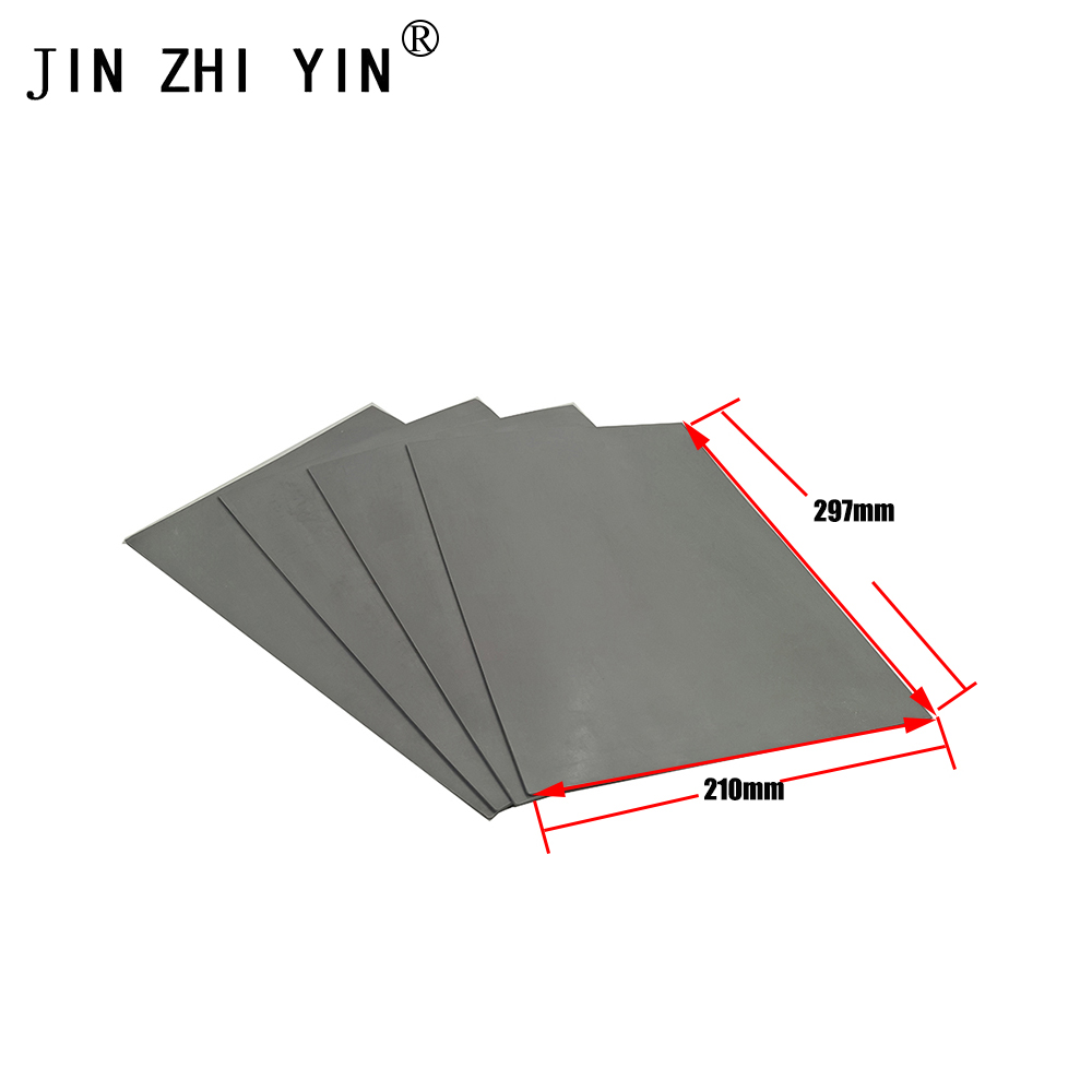 Laser Rubber Sheet/ Rubber Laser Engraving  Sheet 297*210*2.3mm  With Environmental Protection For Stamp  High Quality