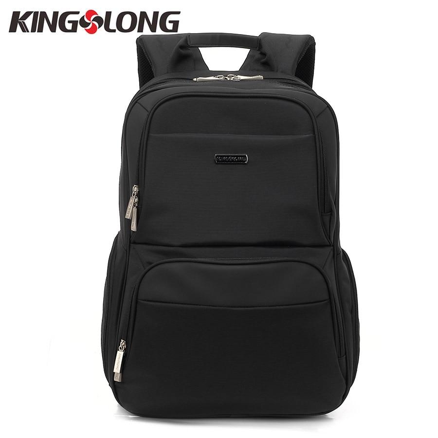 KINGSLONG Fashion Mens 15.6 Inch Laptop Backpack Waterproof Unisex Laptops Large Capacity Travel Backpacks School bag KLB1361-5
