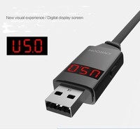 Digital Display USB Charging Charger Data Sync Adapter USB Cable Charging Cord For IPhone 5s 5c