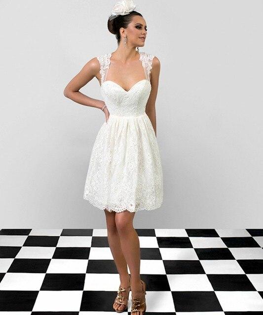ad38e4228 2017 Del Verano Del Estilo Espalda Abierta Una Línea de Novia de Encaje  Vintage Casamento Vestidos