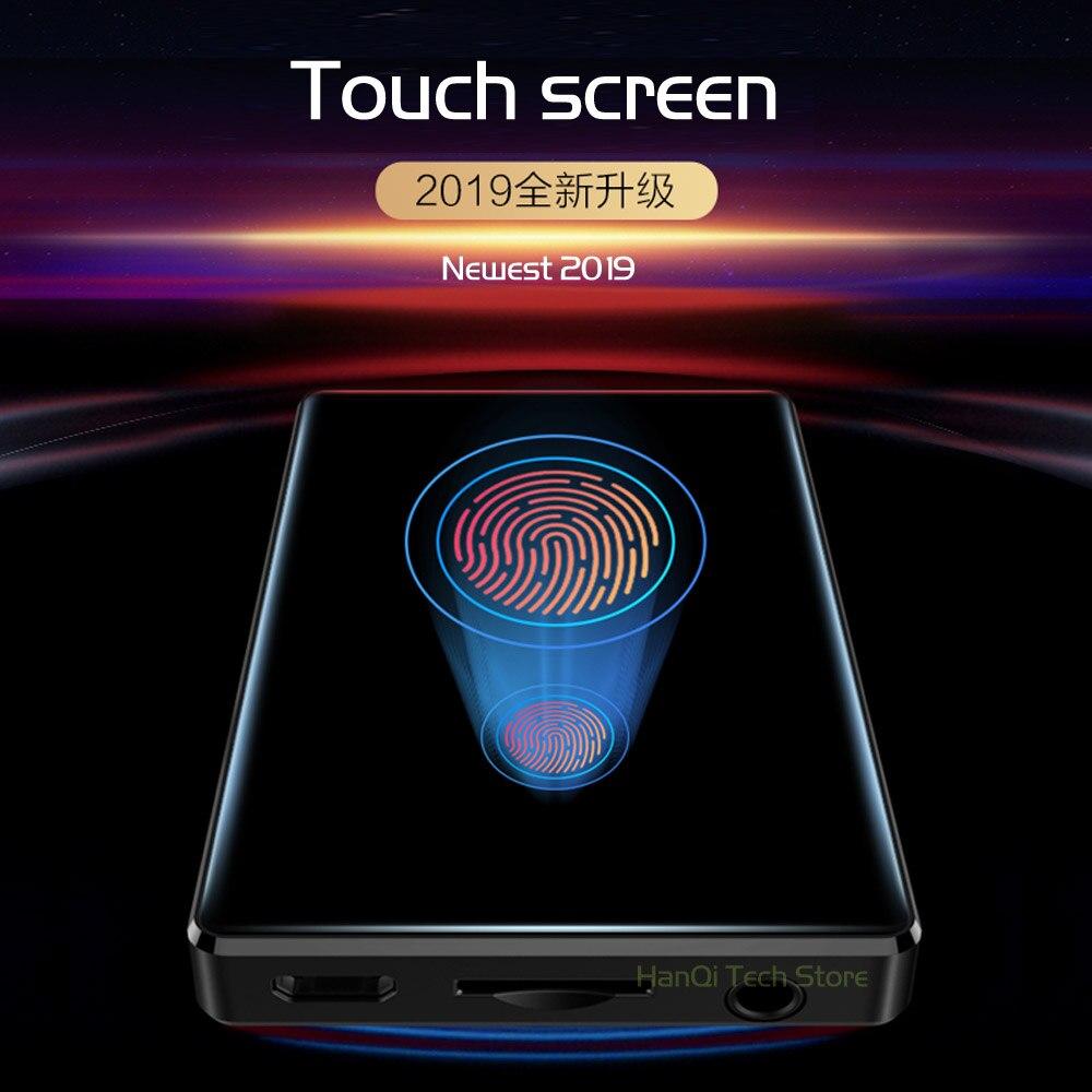 Nouveau RUIZU D20 lecteur MP3 plein écran tactile lecteur de musique 8 GB Support FM Radio enregistrement lecteur vidéo E-book avec haut-parleur intégré - 4