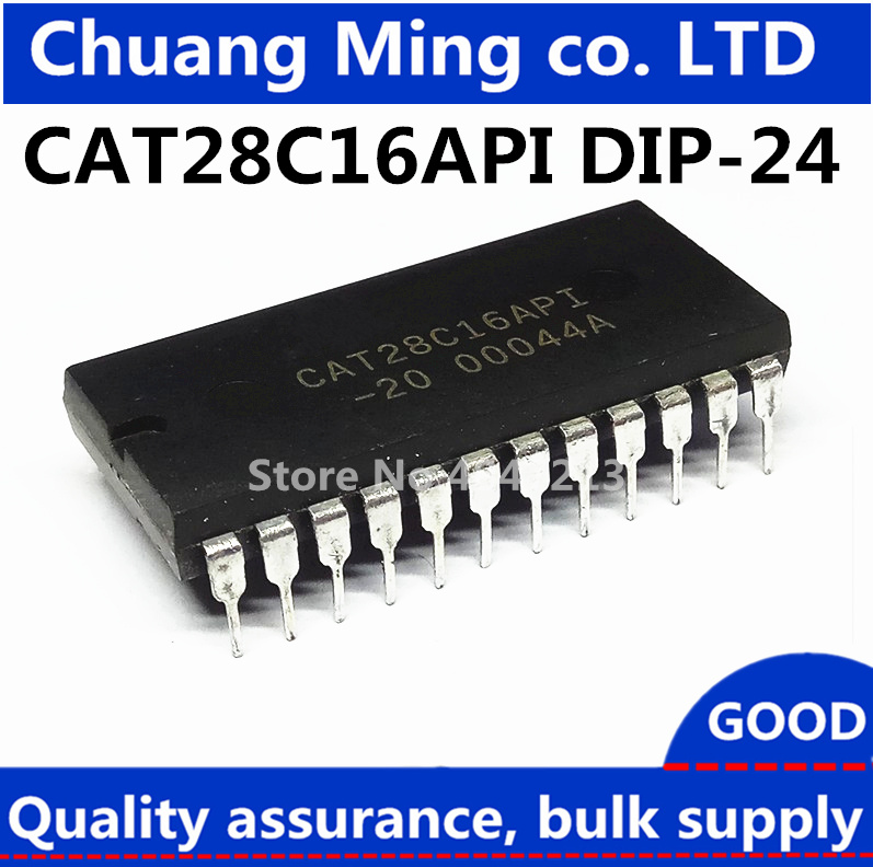Free Shipping 5pcs/lots CAT28C16API-20 CAT28C16API-90 KM28C16 28C16 DIP-24 New Original IC In Stock(China)