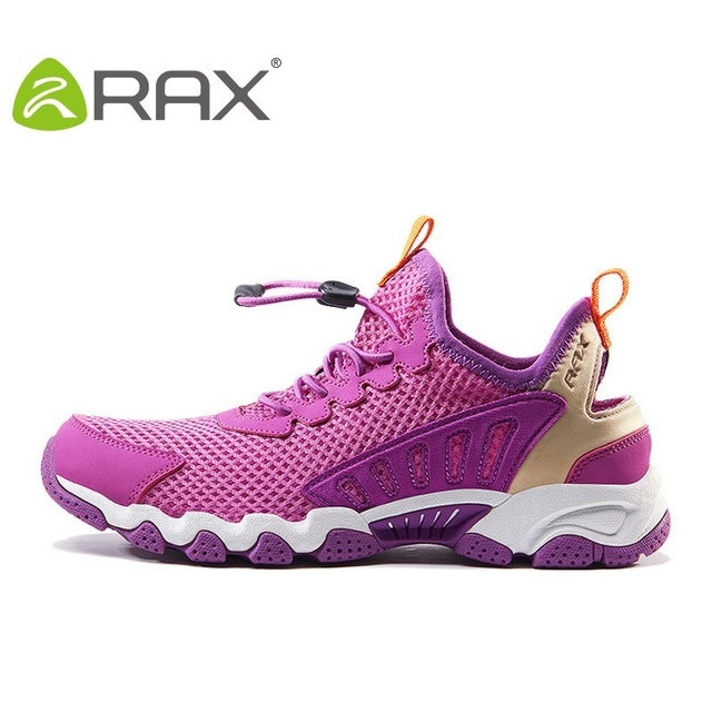 Rax Brand Running Shoes Men Lightweight Mesh Women Shoes Breathable Summer Heavy-Bottomed Women's Athletic Shoes B2808W