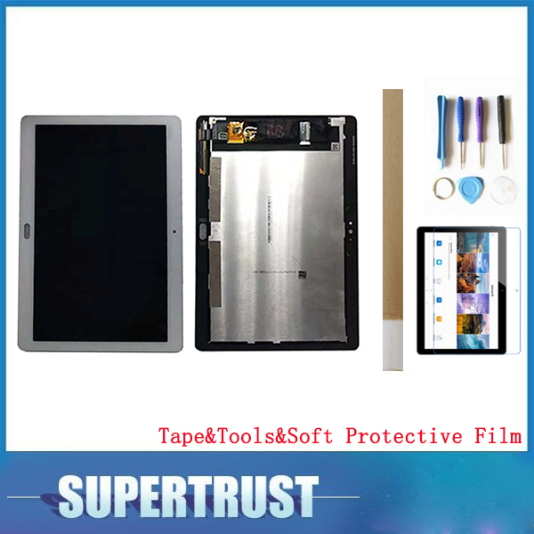 For Huawei Mediapad T3 10 AGS L03 AGS L09 LCD Display+Touch Screen Digitizer Assembly With tools &tape &Soft Protective Film