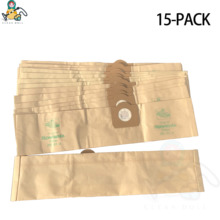 15 pcs Free Shipping KARCHER A3100 INOX K2150 K225 SE4001 T111 T151 T201 VCP3811 VACUUM CLEANER DUST BAGS
