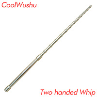 Martial art Two handed whip wushu Self defense weapon chinese kung fu Portable vehicle Stainless steel Home Defense send bag
