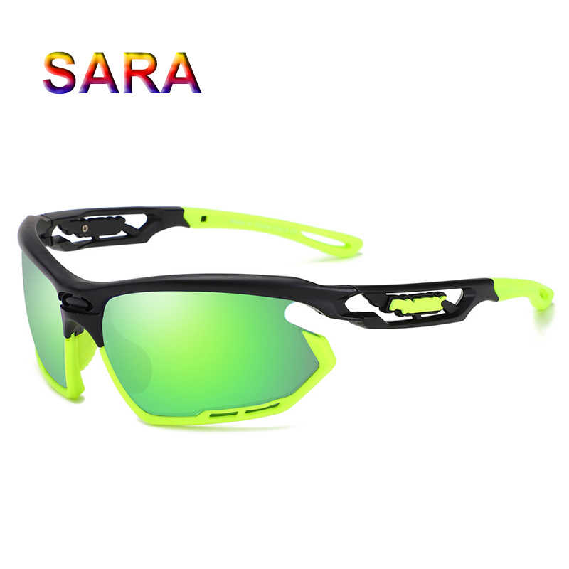 58c83ade9b ... SARA Sports Sunglasses Men Brand Polarized Cycling Glasses Women  Outdoor Bike Eyewear Male Fishing Bicycle Goggle ...
