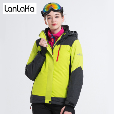 LANLAKA Brand Women Ski Jacket Hot Sale High Quality Winter Jacket New Arrival Women Ski Suit Warm Skiing Snow Coat Ski jacket