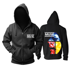 Image 2 - Bloodhoof Muse 2015 The concert Mous punk progressive rock band black top hoodie   Asian Size