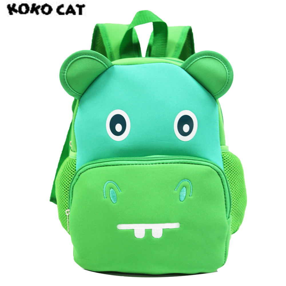 KOKOCAT, Cartoon, Toddler, Bag, Bags, School