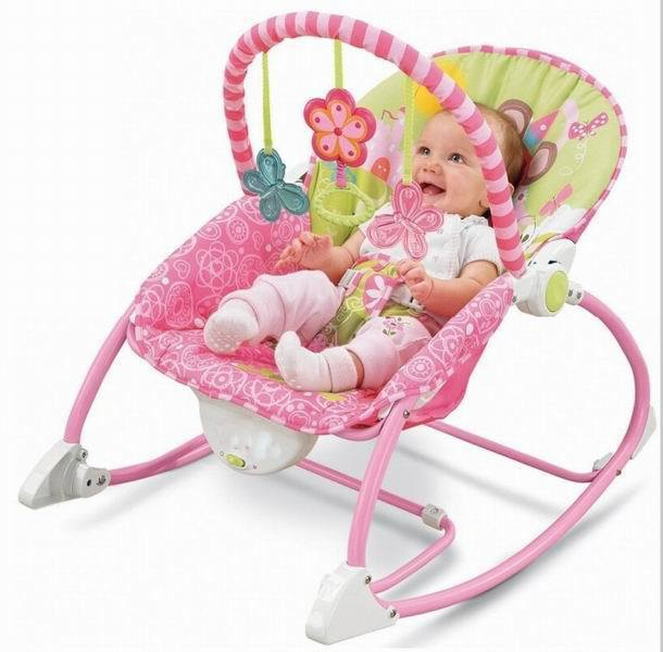 Mat Baby Cradle to Sleep Musical Rocking Chair Electric Swing Bouncer Crib