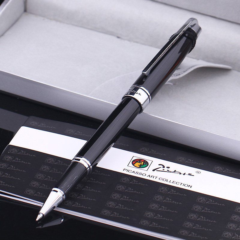Pimio PS912 signature pen men and women business metal gift pen student with office gift box set fundamentals of physics extended 9th edition international student version with wileyplus set