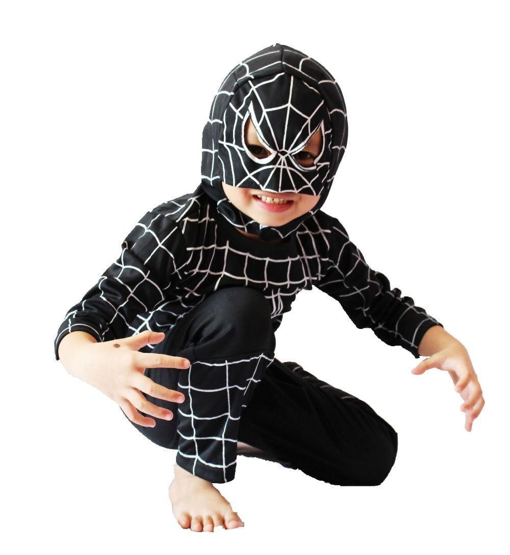 d1592a6479039 Aliexpress.com : Buy Halloween Children's Bos black spider man model ...