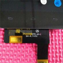 Смартфон IPS5K0586FPC-A1-E ЖК-дисплей Дисплей и CT4F1029FPC-A2-E сенсорный экран планшета панели датчик объектив стеклянной сборки черный