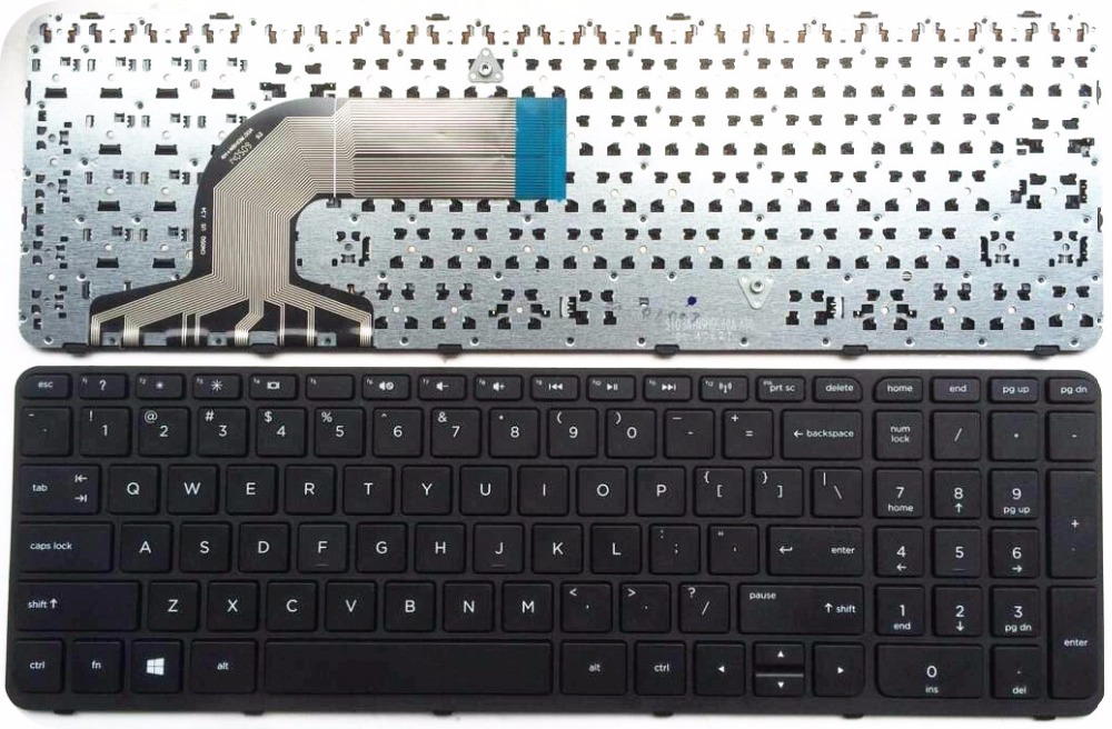English Laptop Keyboard FOR HP Pavilion 350 G1 351 G1 356 355 G2 6037b0095501 SG-59840-XUA 752928-001 758027-001 US
