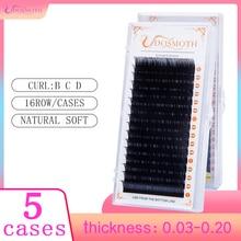 5case 16rows set,High quality mink eyelash extension,individual eyelashes,natural eyelashes,fake false eyelashes недорого