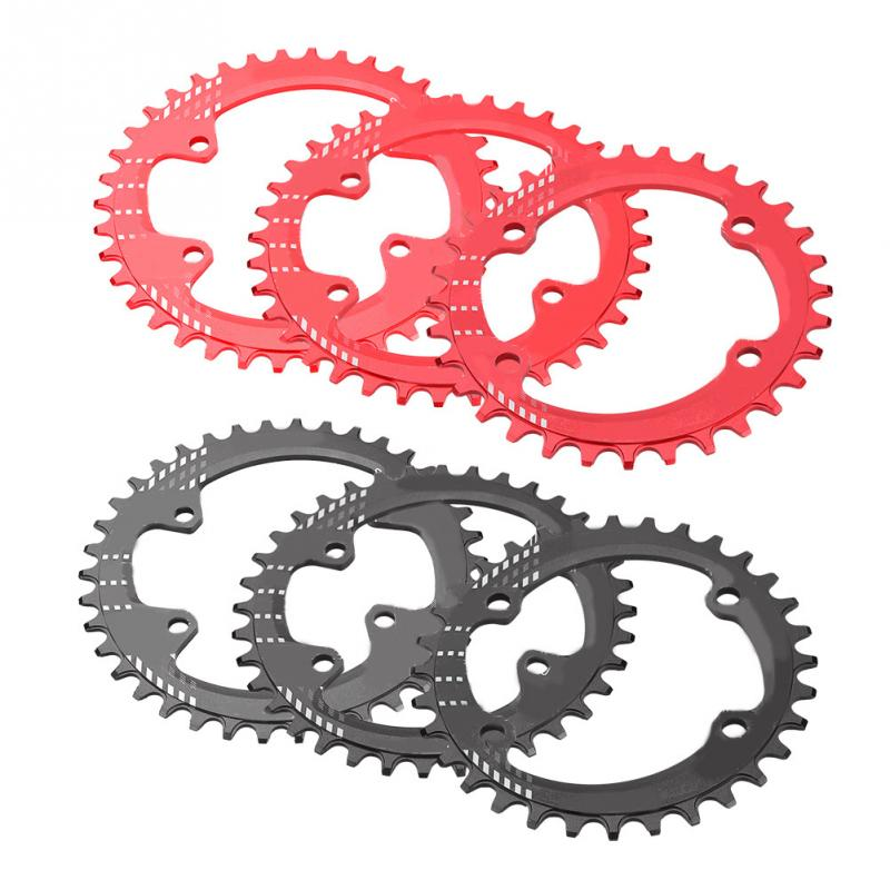 MTB Bicycle Round Narrow Wide Chainwheel 32T/34T/36T/38T BCD 96MM Chainring Bike Circle Crankset for Shimano M6000 M7000 M8000 circle