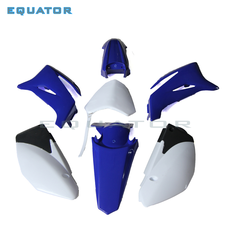 Pièces de moto Kits en plastique cadre garde-boue carénage pour TTR110 BSE160 PH09/10 Dirt Pit Bike MX Motocross Supermoto SM hors route