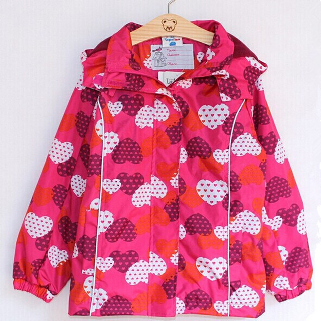 wind and rain in spring and autumn topolino girls trench coat jacket free shipping