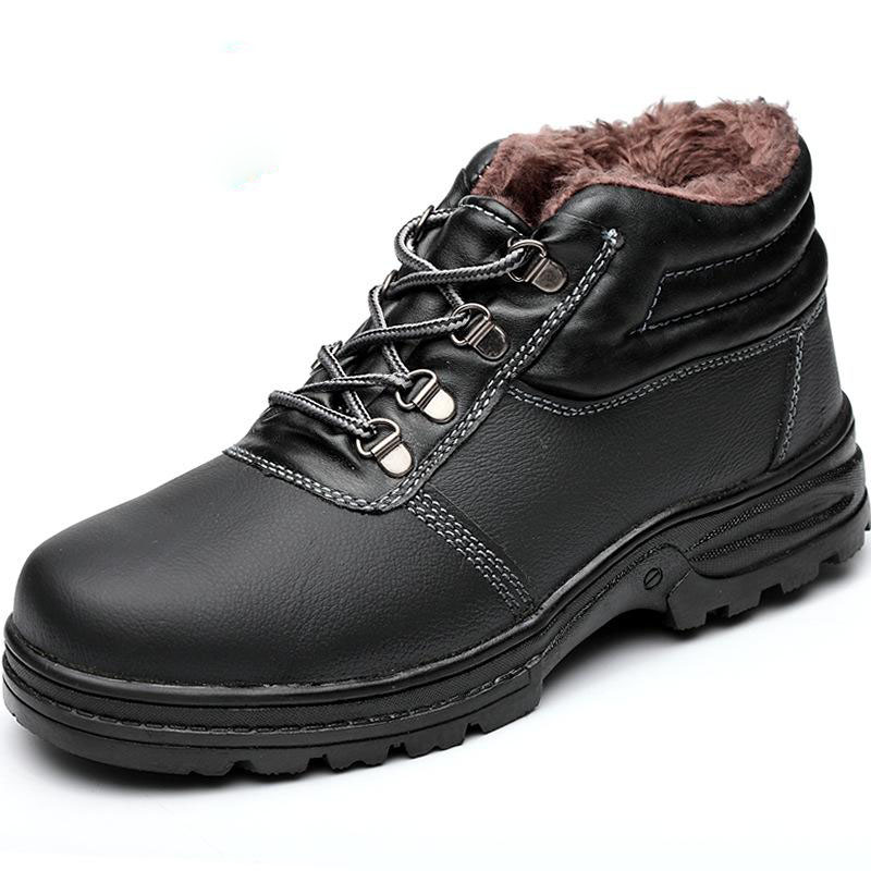 Safety Shoes Cap Steel Toe Safety Shoe Boots For Man Work Shoes Men Waterproof Size 12 Footwear Winter Wear-resistant GXZ010 Safety Shoes Cap Steel Toe Safety Shoe Boots For Man Work Shoes Men Waterproof Size 12 Footwear Winter Wear-resistant GXZ010