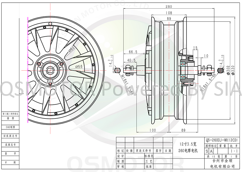 12_35_260_Hub_Motor
