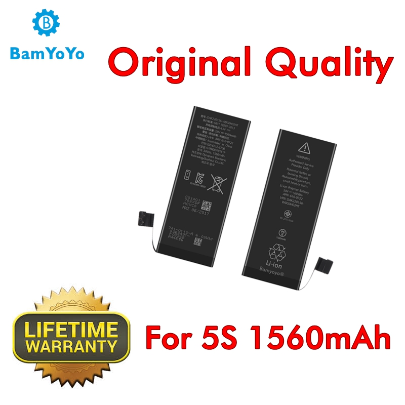 Battery IPhone 5s Internal --Genuine0-Cycle-Battery 1560mah Ce For Brand-New Superior-Performance