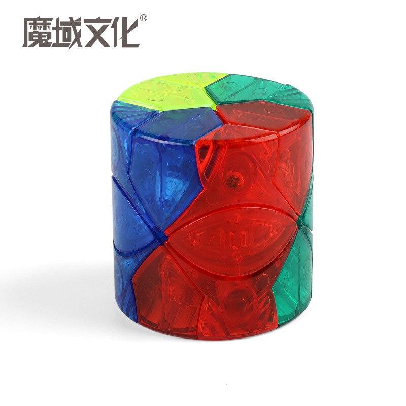 MOYU Baril Redi Cylindre Stickerless 3x3 Étrange-forme Magic Cube Puzzle Cube Jouets Éducatifs pour Enfants Enfants